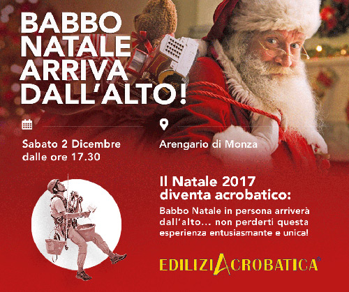 babbo natale a monza